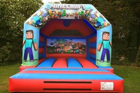 Minecraft Bouncy Castle