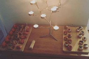 Private dining canapes