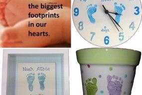 Hand & Footprint Keepsakes