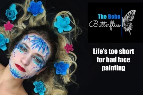 The Boho Butterflies - Face Artists