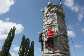 Aveling Adventure mobile climbing wall