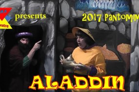 AMA Events Aladdin touring pantomime