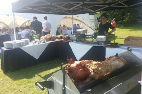 Hog Roast.Our Silver Menu In Yorkshire