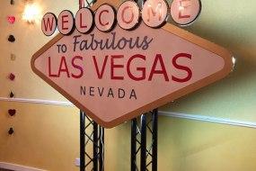 8ft custom made light up Las Vegas Sign