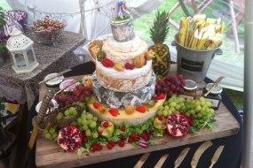 Cheese tower buffet