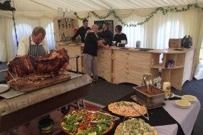 hog and salad buffet