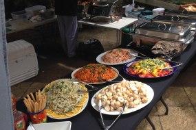 BBQ salad buffet