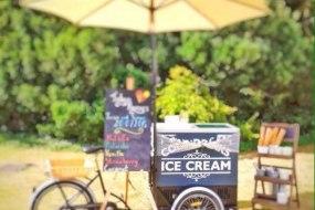 Plum Honeychurch & Her Ice Cream Tricycle