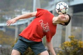 Gregor Russell- Football Freestyler