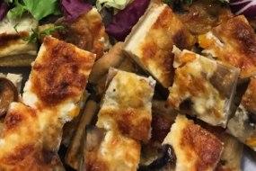 Home made vegetarian quiche
