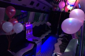 INSIDE OUR PARTY BUS