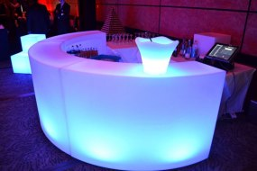 LED Curved Colour Changing Bars