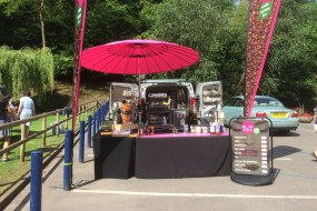 Mobile coffee van at school sports day
