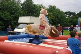 Bucking Bronco with Inflatable