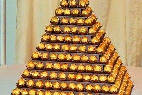 Ferrero Rocher Pyramid Display