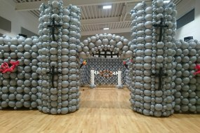 Giant balloon castle