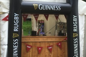 Pimms and Guinness Bar at Eastnor Castle