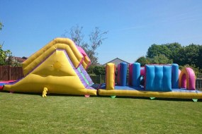 Bouncy Obstacle Course Hire in Cumbria.