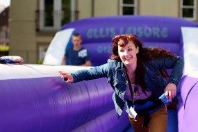 Bungee Run Hire in Cumbria