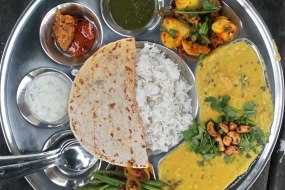 the 9 part thali