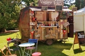 The rustic trailer