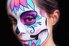 White Whiskers Face Painting