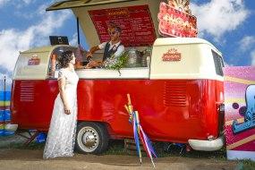 Wedding VW camper bar