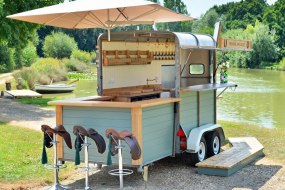 The Horse & Saddle mobile horse trailer bar