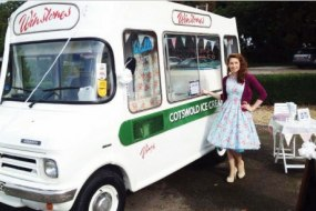 Ice cream van Cotswolds