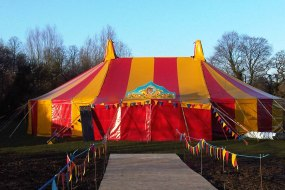 Small circus show tent hire