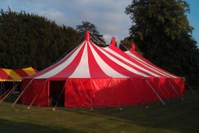 Circus theme party tent hire adult or children parties
