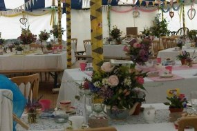 vintage tents and vintage wedding tent hire