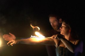 Captain Jackdaw and the Rumbucket Body BurningFire Eating