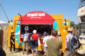 Chapati Man at Glastonbury Festival
