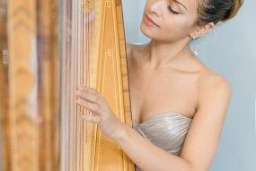 Isabella Asbjørnsen Harpist