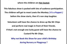 Mr Chips Stage Show