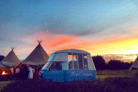 Ice Baby is a vintage ice cream van available to hire for weddings, parties and corporate events.
