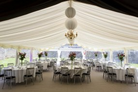 Marquee fixtures & fittings
