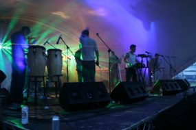 Stage lighting & sound system hire