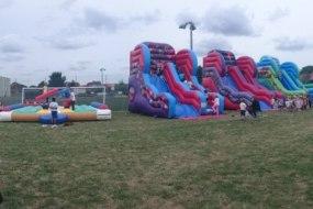Inflatable Slide, Bouncy Castle