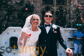 Summer wedding at Lympne Castle , Kent