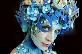 Body Painting By Cat