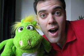 Froggle with his pet Dragon Puggle