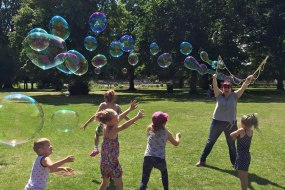 Big bubbles for outdoor events