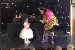 Children's party including magic