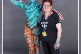 Body Painting Brushstrokes Paintopia 2016
