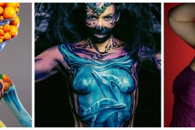 Examples of my body painting