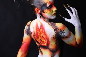 Brushstrokes Face Painting and Body Art