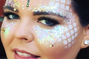 Chunky Glitter Face and Body Art
