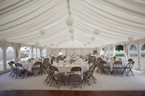 interior of a marquee